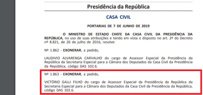 Exoneração Galli