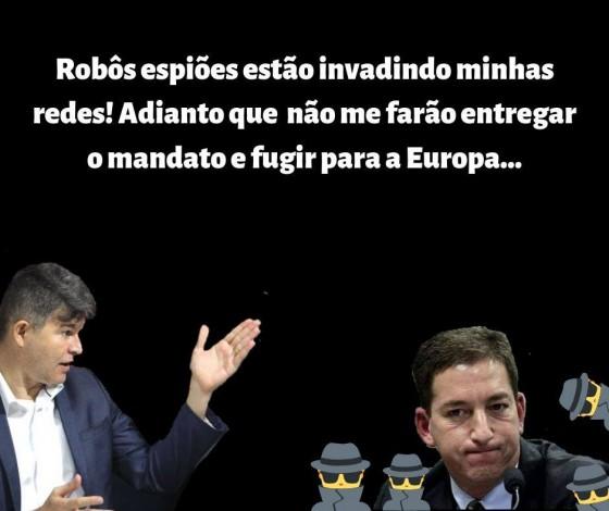 Enquete José Medeiros robôs