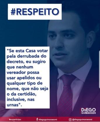 Diego Guimarães nome social