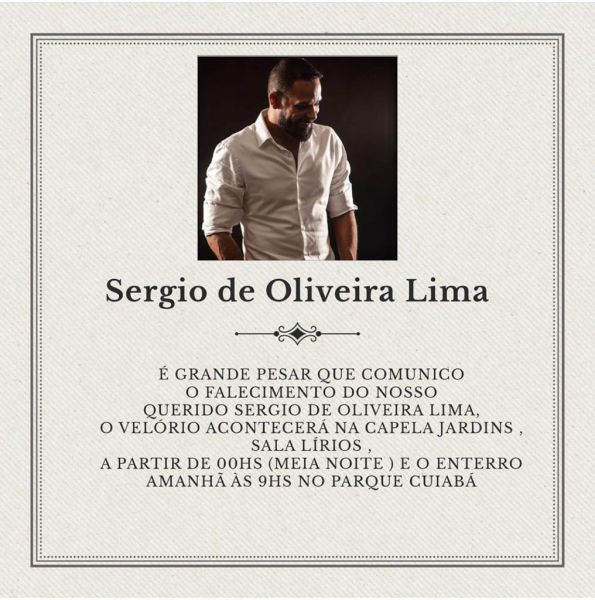 Velório Sérgio Lima