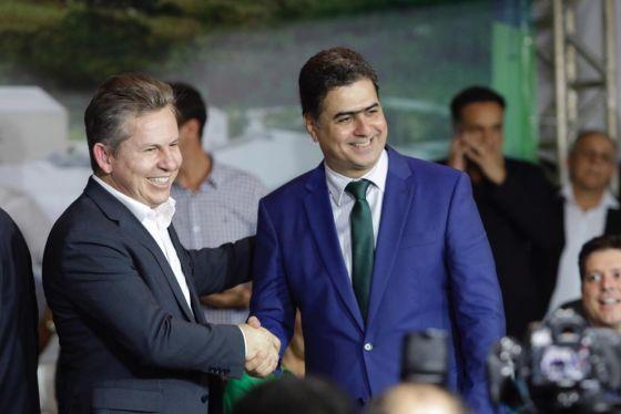 Mauro Mendes e Emanuel Pinheiro