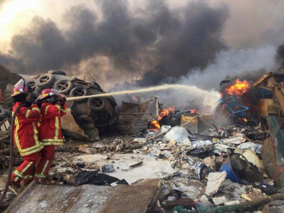 Explosao em Beirute