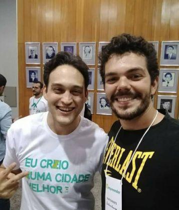 Gustavo Lima Franco e Felipe Wellaton