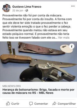 Gustavo Lima Franco facas