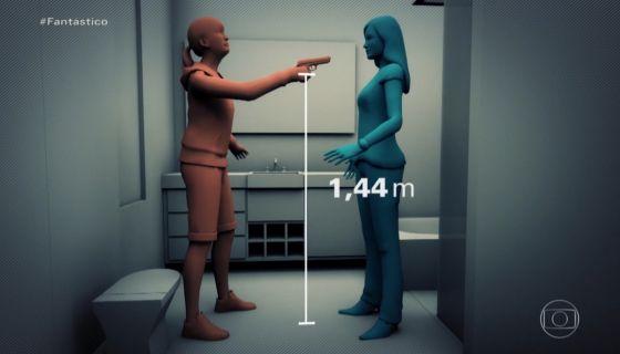 Isabele tiro distância simulação