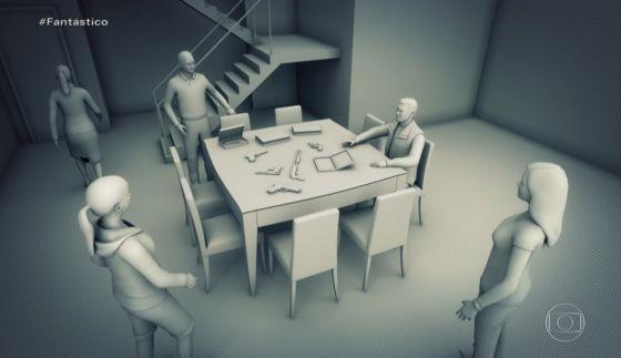 Isabele armas expostas simulação