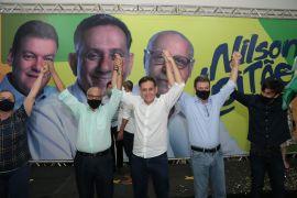 Nilson Leitão, Júlio Campos e Zé Márcio Senado