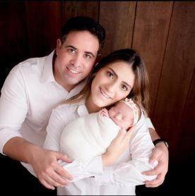 Niuan Ribeiro e família