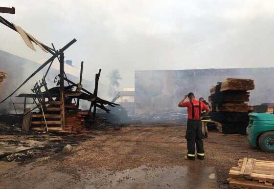 incêndio em Rondonópolis