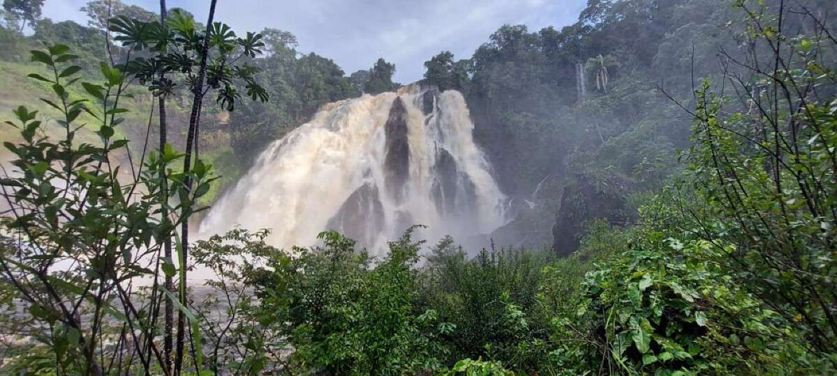 Foto: Corpo de Bombeiros de Guarantã do Norte - Cachoeira Curuá